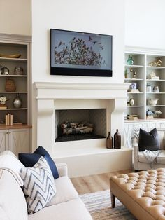 Stone Mountain Castings and Designs has the largest fireplace mantel inventory in the Western United States. Custom Fireplace Mantels, Home Fireplace, Fireplace Remodel, Fireplace Design, Fireplaces, Cast Stone Fireplace, Simple Fireplace, Fireplace Surrounds, Dining Nook