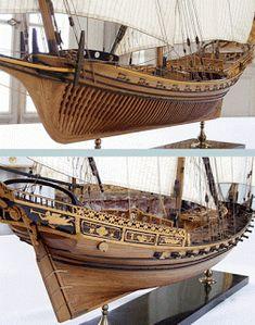 Wooden Model Boats, Wood Boats, Model Ship Building, Boat Building, Model Sailing Ships, Scale Model Ships, Ship Drawing, Abandoned Ships, Wooden Ship