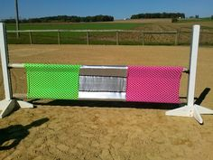 Nice SCARY jumps to boombproof your pony !! I can do this!!! Fabric already purchased.