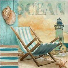 Conrad-Knutsen-Ocean-Keilrahmen-Bild-Leinwand-Strand-maritim-Urlaub-Ferien