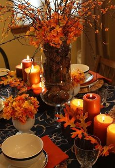 Beautiful fall decorations at Hobby Lobby!