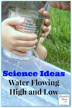 Science Ideas- Controlling Water Flow from Fun and easy and perfect for summer! Cool Science Experiments, Easy Science, Science Fair, Science Lessons, Science For Kids, Science Projects, Science And Nature, Science Ideas, Preschool Science Activities