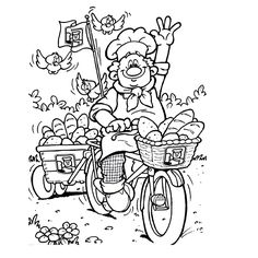 Bakery Coloring Pages 18 Easter Coloring Pages, Colouring Pages, Coloring Pages For Kids, Coloring Sheets, Adult Coloring, Coloring Books, Art Drawings For Kids, Easy Drawings, English Worksheets For Kids