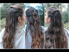 (7) Octavia's & Lexa's Hair | The 100 - YouTube