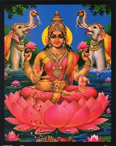 Lakshmi - prosperity and well-being