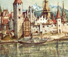 'Innsbruck' von Albrecht Durer (1471-1528, Germany)