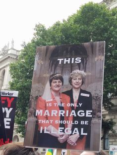 Theresa May and Arlene Foster Brexit Humour, Arlene Foster, Conservative Memes, Scum Of The Earth, Life In The Uk, Tory Party, Scottish Independence, Uk Politics, Information Age