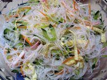 Sushi Recipes, Asian Recipes, Vegetarian Recipes, Healthy Recipes, Good Food, Yummy Food, Oriental Food, Vegetable Salad, Light Recipes