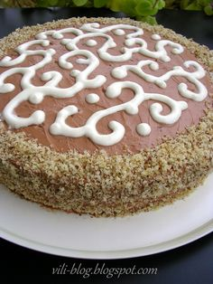 Bulgarian Recipes, Vanilla Cake, Dishes, Desserts, Food, Plate, Postres, Deserts, Utensils
