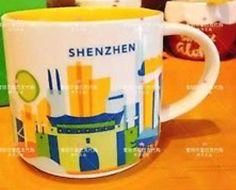 Shenzhen, China   YOU ARE HERE SERIES   Starbucks City Mugs
