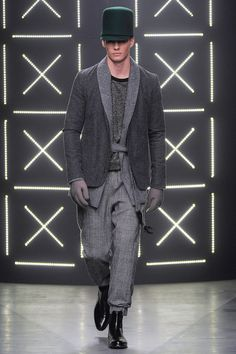 Robert Geller - Fall 2014 Menswear - Style.com / I'd happily dress myself out of this collection...
