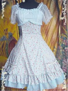 Summer Sail Infanta Lolita One Piece Cotton Dress