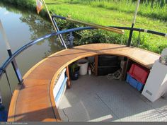 Wide Beam Houseboat Cruiser SternBoats for Sale