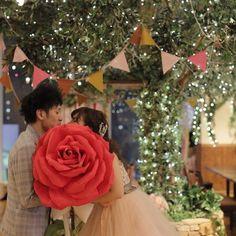 おっきくてふわっふわなお花に囲まれて♡可愛すぎる《ジャイアントペーパーフラワー》のデザイン5選* | marry[マリー]