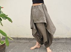 Wings/women/clothing/linen/cotton/loose/long/wide by KelansArtCouture, $68.00