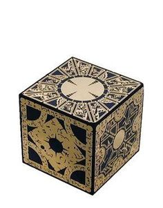 The Hellraiser cube.  Very cool movie memorabilia.