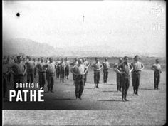 Swedish Drill By West Lancashire Regiment (1914-1918)