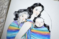 list of babywearing art - 3