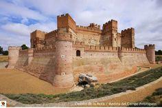 Fortress design for more permanent garrison.