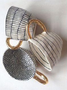 101 Besten Keramik Projekte Ideen # You think it's too expensive to d. - 101 Besten Keramik Projekte Ideen # You think it's too expensive to decorate the House? Ceramic Pottery, Ceramic Art, Ceramic Cups, Ceramic Tableware, Pottery Mugs, Ceramic Decor, Pottery Art, Suzanne Sullivan Ceramics, Keramik Design