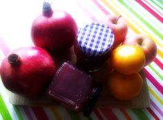 Herrlich fruchtig leckere GranatApfel-Orangen-Marmelade!!!