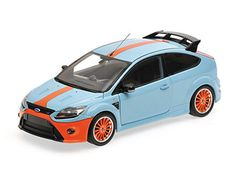 Minichamps 1:18 Ford Focus Diecast Model Car - 100080068 This Ford Focus RS (1967 Ford MkIV Tribute 2010) Diecast Model Car is Light Blue and features working steering, suspension, wheels and also opening bonnet with engine, boot, doors. It is made by Minichamps and is 1:18 scale (approx. 24cm / 9.4in long).  #Minichamps #ModelCar #Ford Focus Rs, Ford Focus, Diecast Model Cars, Electric Motor, Ford Models, Motor Car, Scale Models, Childhood Memories, Light Blue