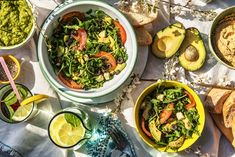 Mediterraner Salat zum Grillen