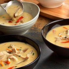 Thai Chicken Vegetable Soup Recipe