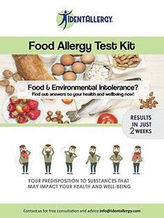 Allergy Check Kit | Best Test at Home Intolerance Test, Allergy Testing, Food Test, Food Allergies, Vitamins, Kit, Health, Simple, Check