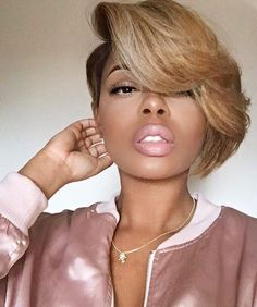 80 Upscale Short Haircuts For Black Women - Be Cute & Natural In 2016 - http://hairstylezz.com/best-short-haircuts-for-black-women/