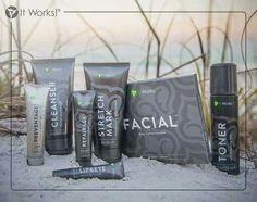 La super gamme visage et corps sachant que le cleanser et le stretch mark peuvent être utilisés sur tout le corps tout pour être belle et fraîche