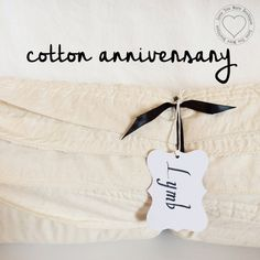 636acdc10042 27 Best 2nd Year Cotton Anniversary Gift images in 2019