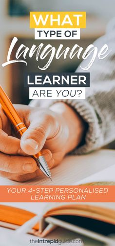 Do you know what type of language learner you are? Are you a visual, aural, verbal, or a kinesthetic learner? Here's how to WIN at language learning. Best Language Learning Apps, Learning Languages Tips, Learning Resources, Teaching Strategies, Foreign Languages, Language Study, Language Lessons, Learn A New Language, Dutch Language