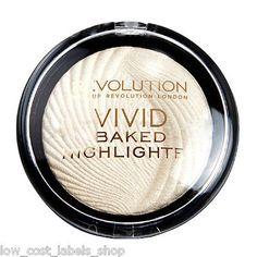 Makeup Revolution Vivid Baked Highlighter HIGHLIGHTING POWDER Golden Lights in Health & Beauty, Make-Up, Face | eBay
