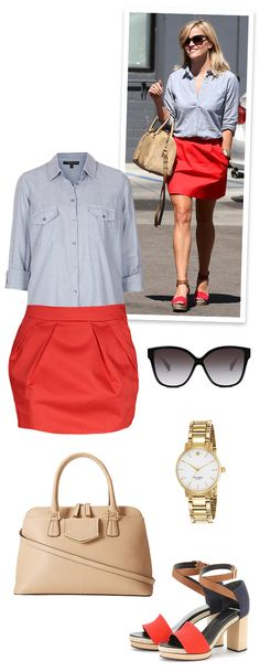 Steal Her Style: Reese Witherspoon - via Oh the lovely things blog