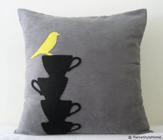 Oh mylanta! I love this! Two things I'm most obsessed with.. coffee cups and birds ... if only there was a tree and I would sleep on it every night of my life :)