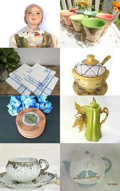 Granny Sprigs Cooks Up Some Lunch by Betty J. Powell on Etsy--Pinned with TreasuryPin.com