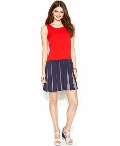 Zooey Deschanel for Tommy Hilfiger Tennis Dress - Dresses - Women - Macy's