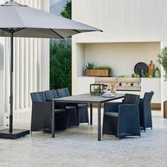 Oasis parasol is made of aluminium and comes in different fabric colour choices. We advise that the parasol is not used during heavy wind. Outdoor Furniture Sets, Modern Dining, Modern Dining Chairs, Furniture, Contemporary Armchair, Home Decor, Furniture Covers, Parasol Base, Contemporary Furniture Design
