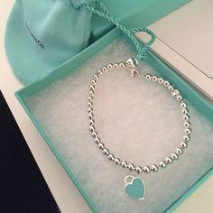 2de8c72913f4 Tiffany   Co. Return to Tiffany bead bracelet Size small