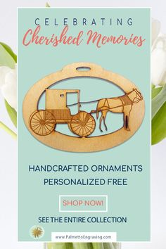 Looking for a unique Amish Horse and Buggy Ornament? These personalized Amish Horse and Buggy ornaments are the perfect addition to your Christmas tree. Unique Christmas Gifts, Christmas Gift Guide, Rustic Christmas, Holiday Gifts, Christmas Decor, Secret Santa Gift Exchange, Secret Santa Gifts, Gifts For Dad, Gifts For Friends