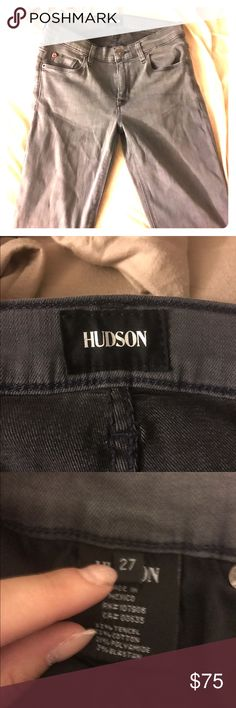 Hudson Jeans Never Worn Never worn, bought and they won't return just trying to get a tiny bit of money back for what I paid ! Open to offers Hudson Jeans Jeans Skinny