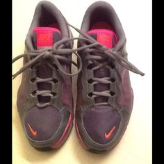 Training Plex Great condition, orange, pink and grey Nike Shoes Athletic Shoes