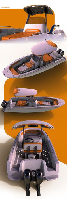 Personal project inspired by life in Florida. Convertible Fishing Boat, Moving To Florida, Water Toys, Super Yachts, Boat Design, Fishing Boats, Design Process, Sailing, Concept