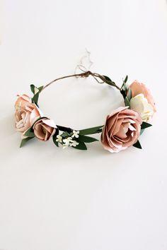Paper Flower Crown — Handmade by Sara Kim