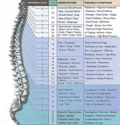 Spinal pressure points