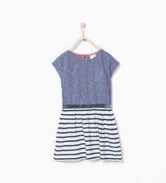ZARA - NIÑOS - Vestido combinado