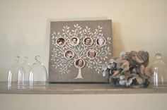 FAMILY TREE  Precious mothers day gift 20 cm x20 cm by verylilly