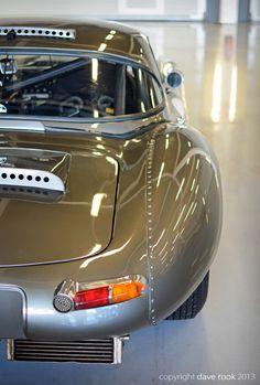 Galal Mahmoud's Jaguar E Type Lightweight No.59 - 2013 Silverstone Classic