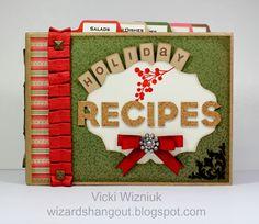 Wizard's Hangout: Regionals: Operation Smile Auction - Holiday Recipes Mini Album